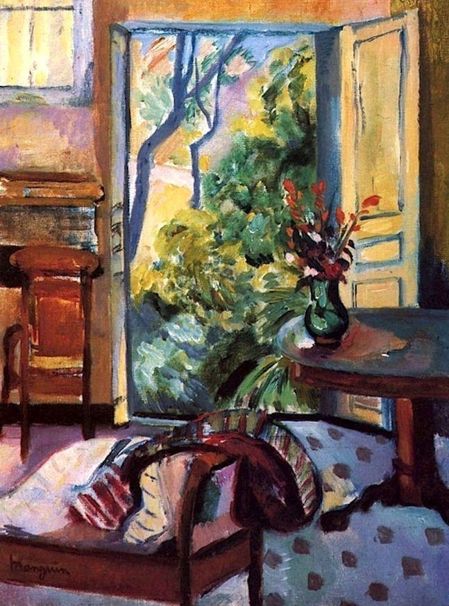 The Oustalet Studio , 1921 Henri Manguin