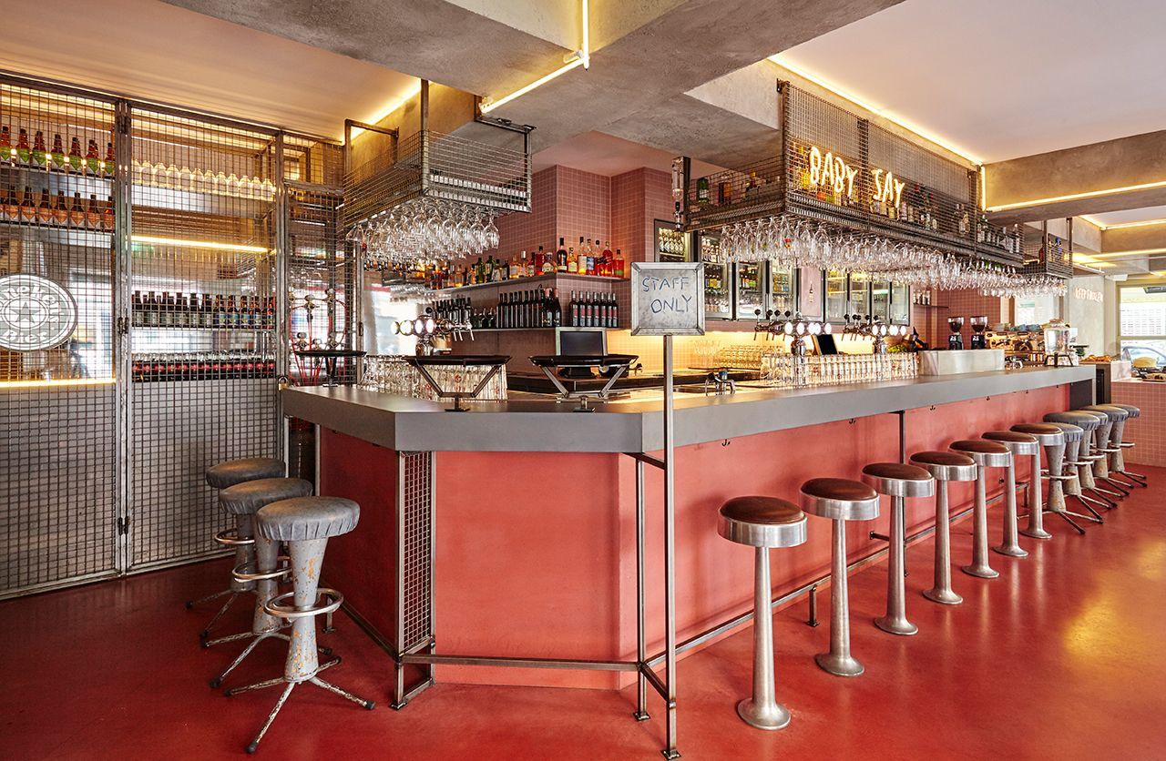 Bar Basquiat In Amsterdam By Studio Modijefsky Yatzer Amsterdam Bar Bar Restaurant Design
