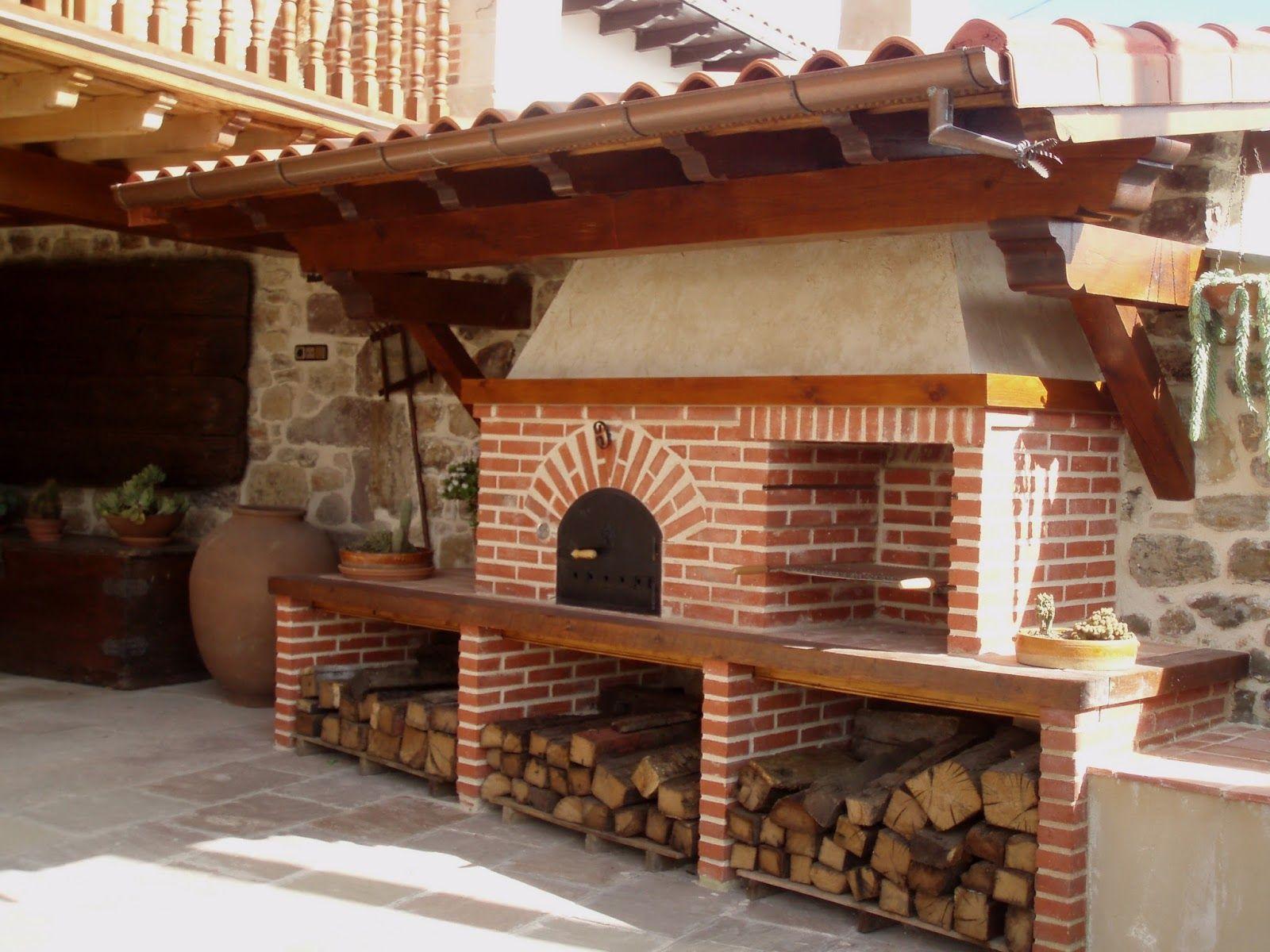 Pin de liliana pi ero en asadores pinterest asador - Barbacoas y hornos ...