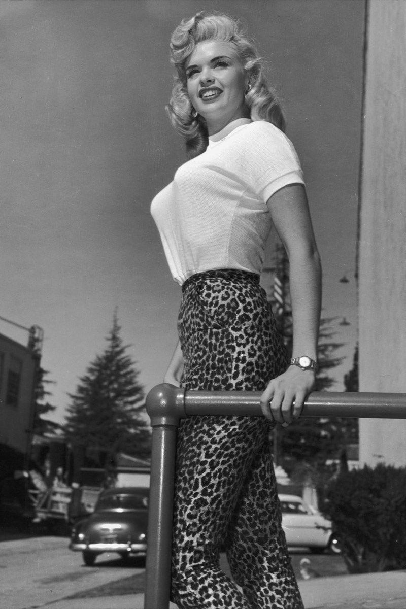 Las mejores imagenes antiguas de estampado de leopardo: Jayne Mansfield | Galería de fotos 8 de 29 | Vogue