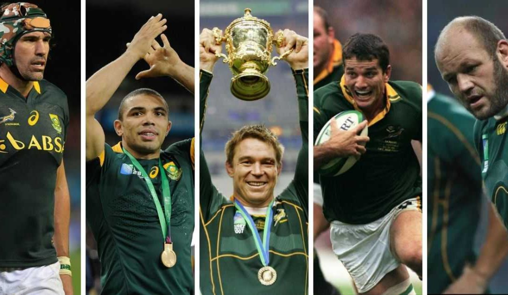 Top 7 South African Springbok Rugby Legends Springbok Rugby Rugby South African Rugby Players