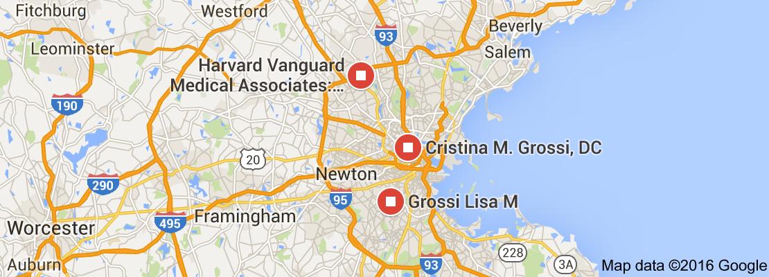 Map of Grossi Boston USA | 1904 to 1925 USA Boston Ice Ships ...