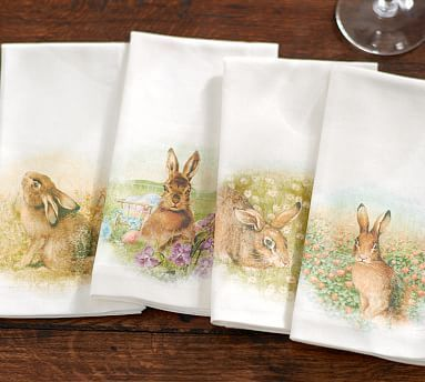 Pin By Ajm On Spring With Images Bunny Napkins Spring