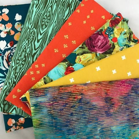 Almost Primary Yardage Bundle by Bobbie Lou's Fabric Factory