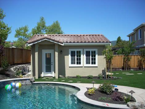 small pool house   pool houses   pinterest   pool houses, small