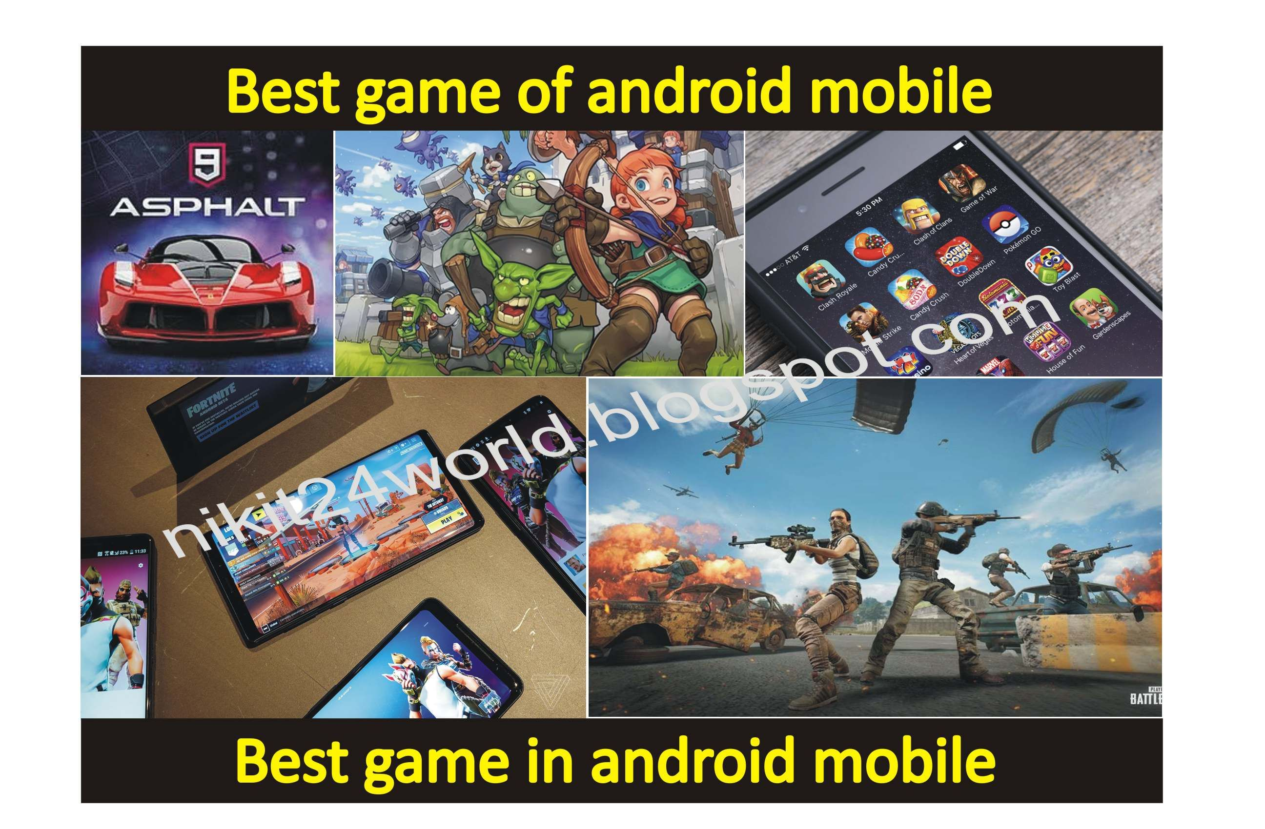 Best game of android mobile Best games, Best android
