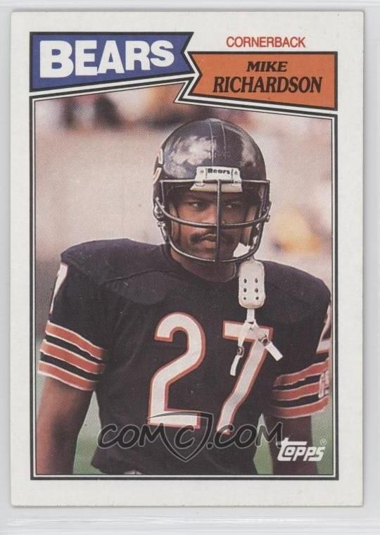 1987 Topps #60 - Mike Richardson - COMC Card Marketplace