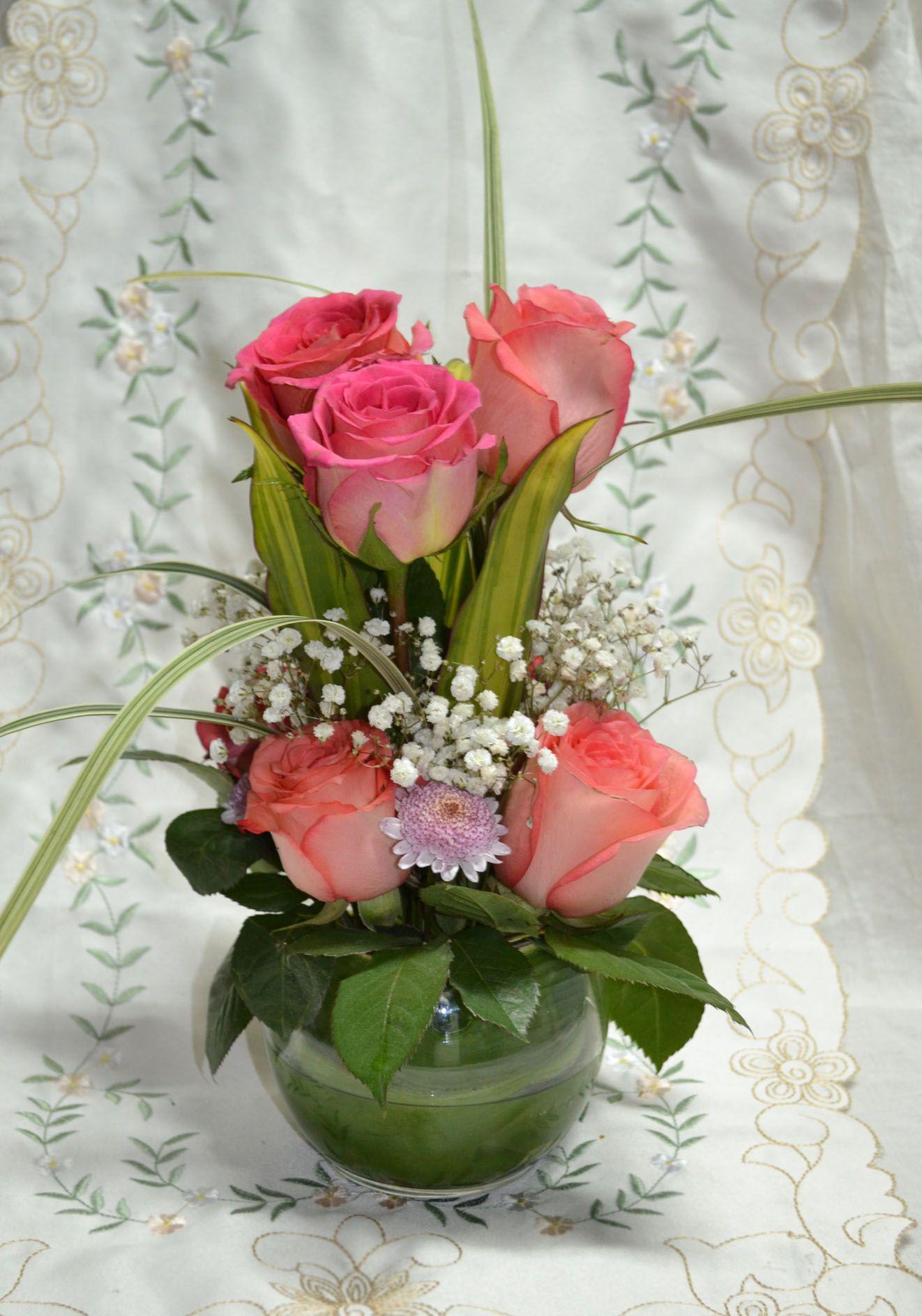 Pin De Verónica Savir En Flores Centros De Mesa