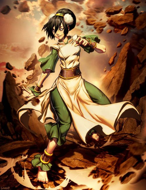 Toph With Images Avatar Aang The Last Airbender Avatar Airbender