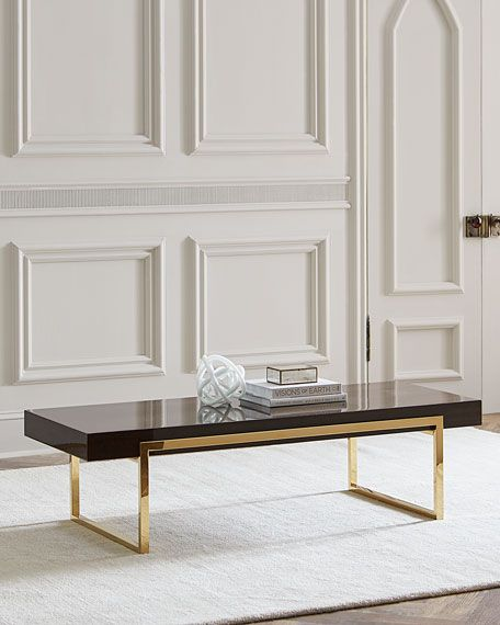 Interlude Home Cronyn Veneer Coffee Table In 2019 Kimbark Table