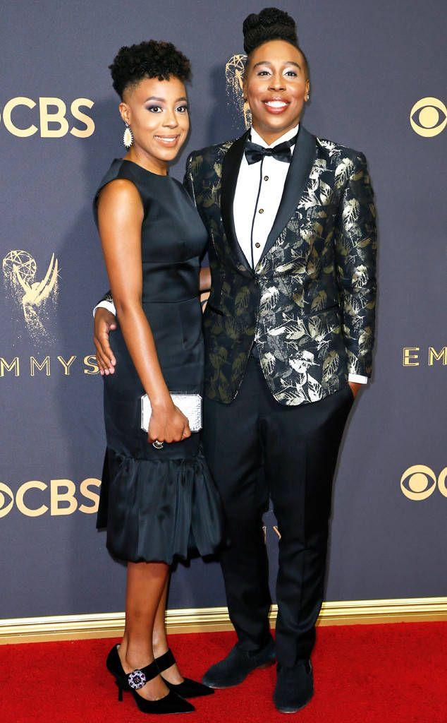 Lena Waithe Alana Mayo From Emmys 2017 Red Carpet Couples Black Celebrity Couples Black Celebrities Red Carpet Couples