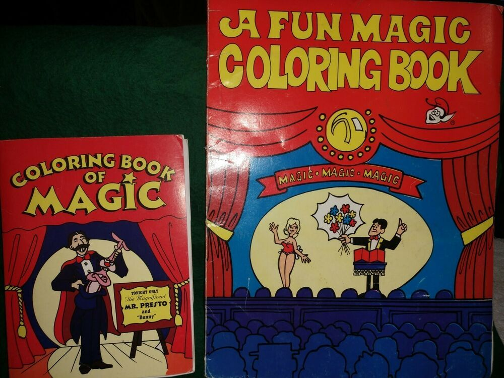 Royal Magic Coloring Book Easy Magic Trick Large Small Format Included Easy Magic Tricks Easy Magic Coloring Books