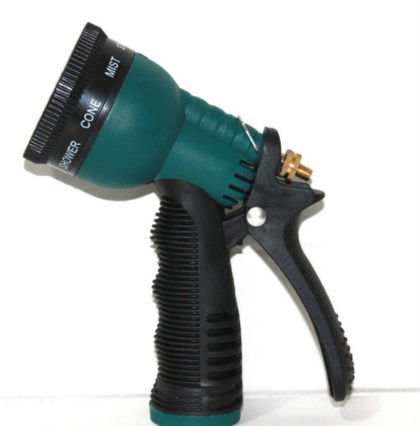 Garden Hose Nozzle Water Sprayer Sprinkler Head Insalated Nozzle 7 Spray Parrens Unbranded Hose Nozzle Sprinkler Heads Sprayers
