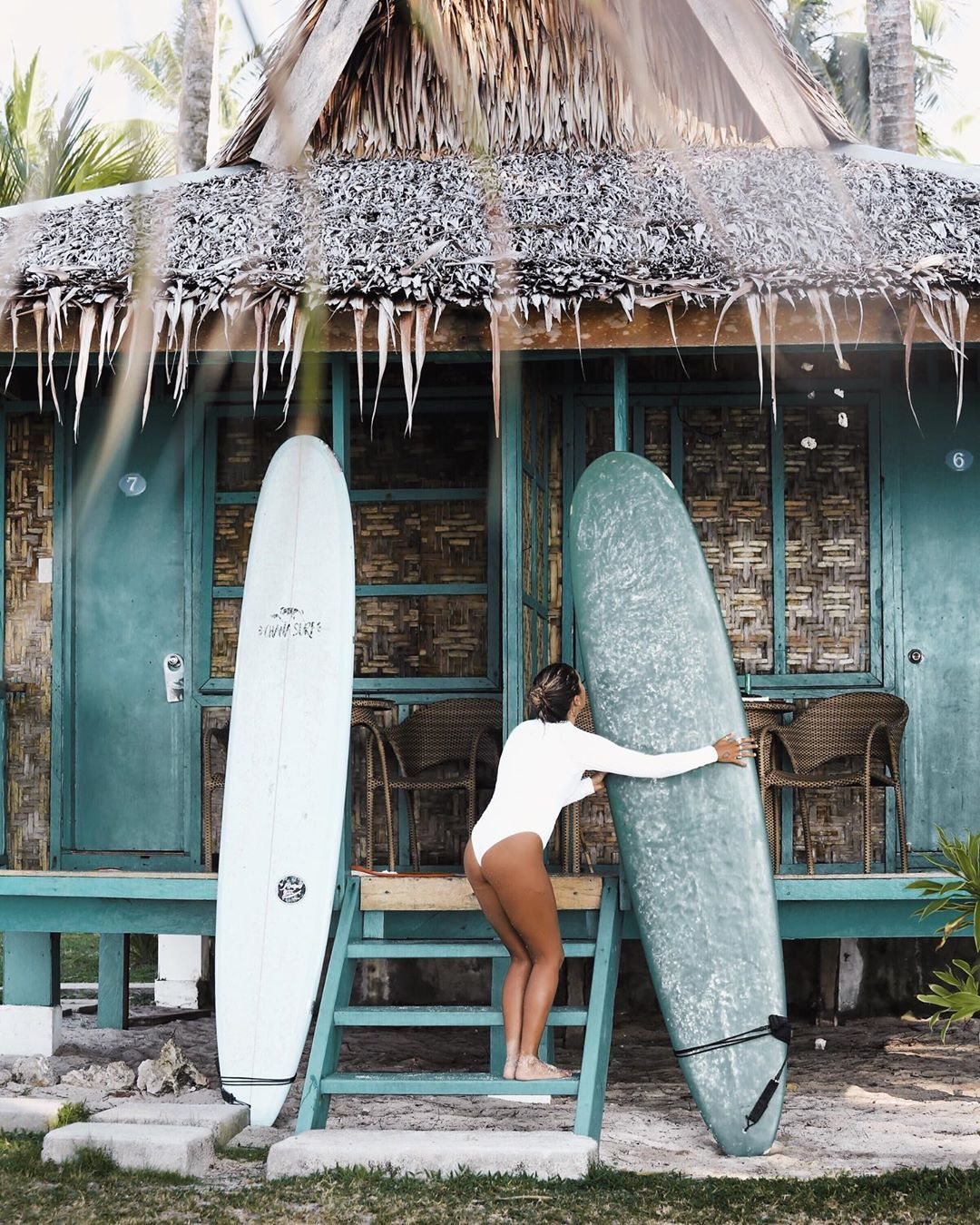 Surfer Girl Mentawais Philippines Tropical Surfing Surfing Pictures Surf Style