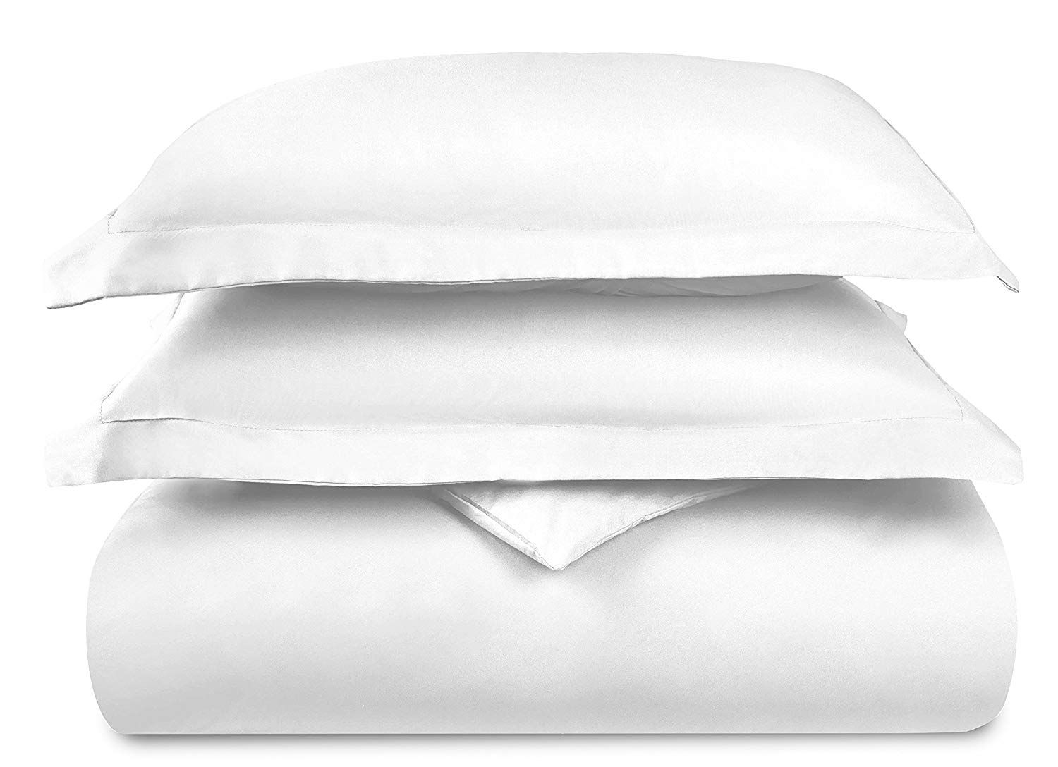 Duvet Cover Set-1500 Thread Count Egyptian Quality Ultra Silky Soft Top Premium