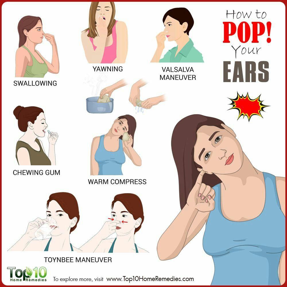Pin By Katriel Lowe On Health How To Pop Ears Clogged Ear Remedy Pop Ears Remedy