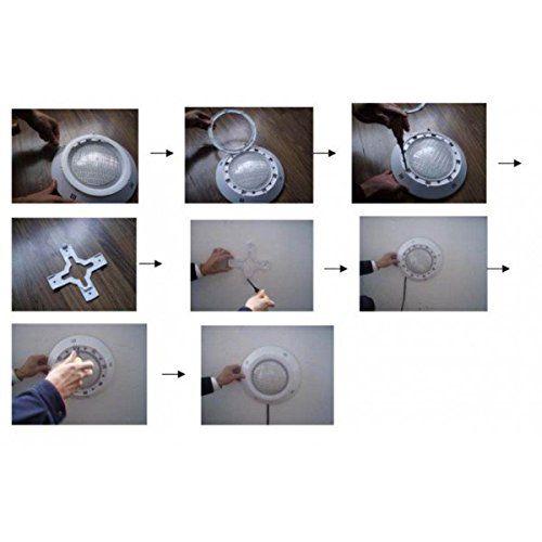 Spot Blanc étanche à LED 272pcs pour piscine: Amazon.fr: Luminaires et Eclairage