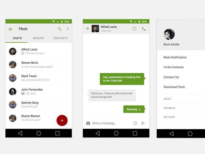 26 Best Inspiring Mobile App Interfaces Using Google's