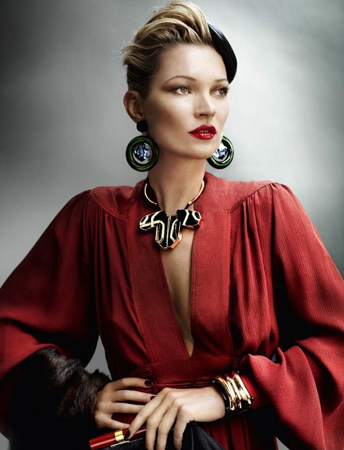 Kates Classic Glamour  Vogue august 2011