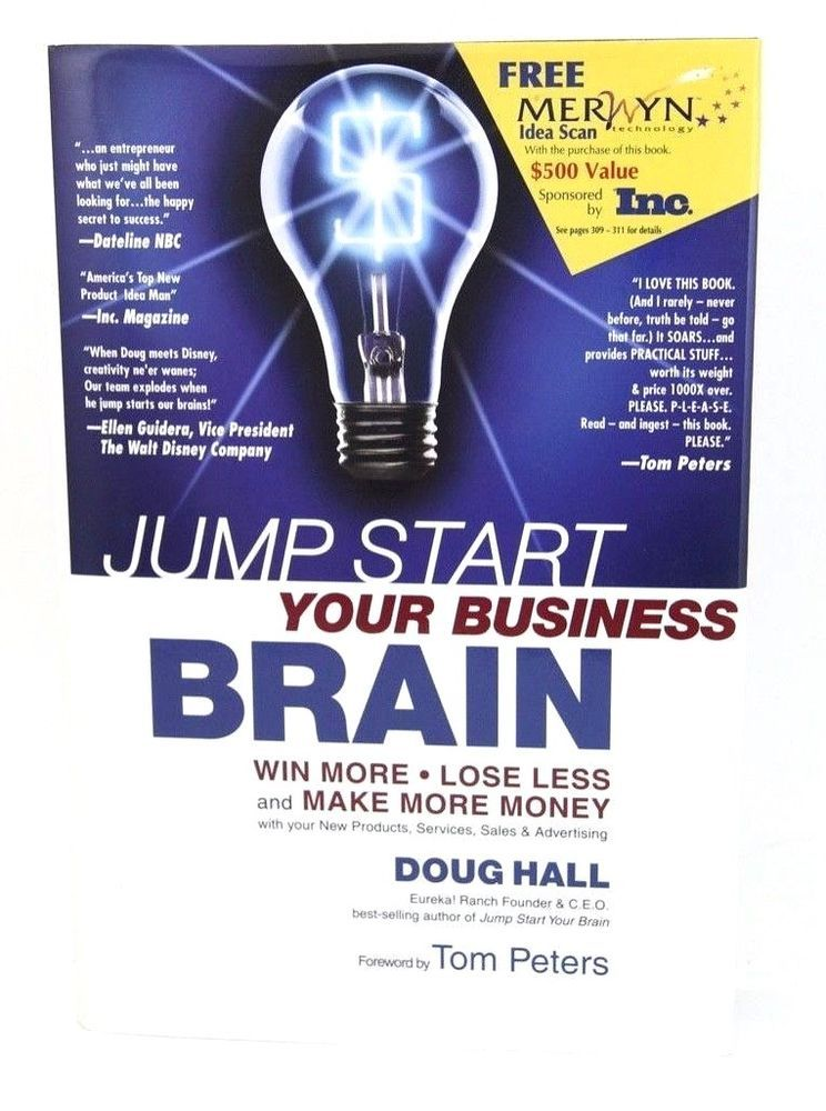 Jump Start Your Business Brain Win More Lose Less And Make More Money With You 9781558706071 Ebay Make More Money Secret To Success Business Books