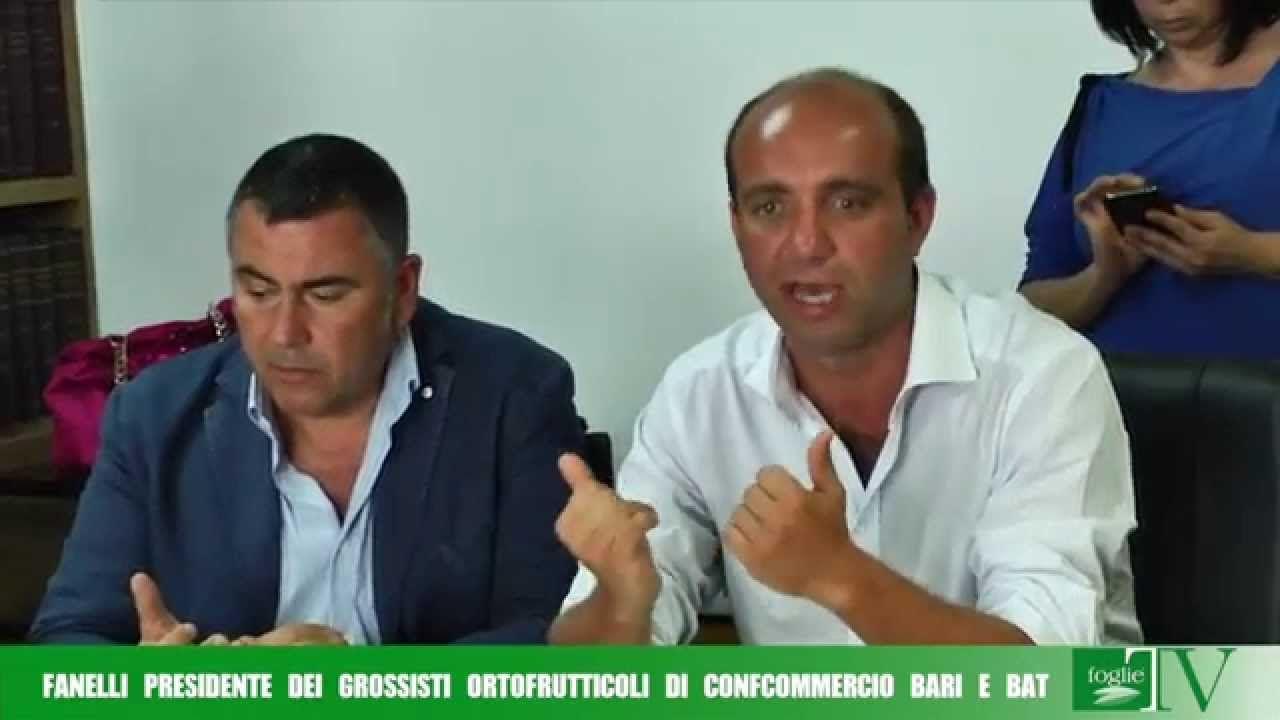 FOGLIE TV - Fanelli Presidente della sezione Grossisti Ortofrutticoli Co...