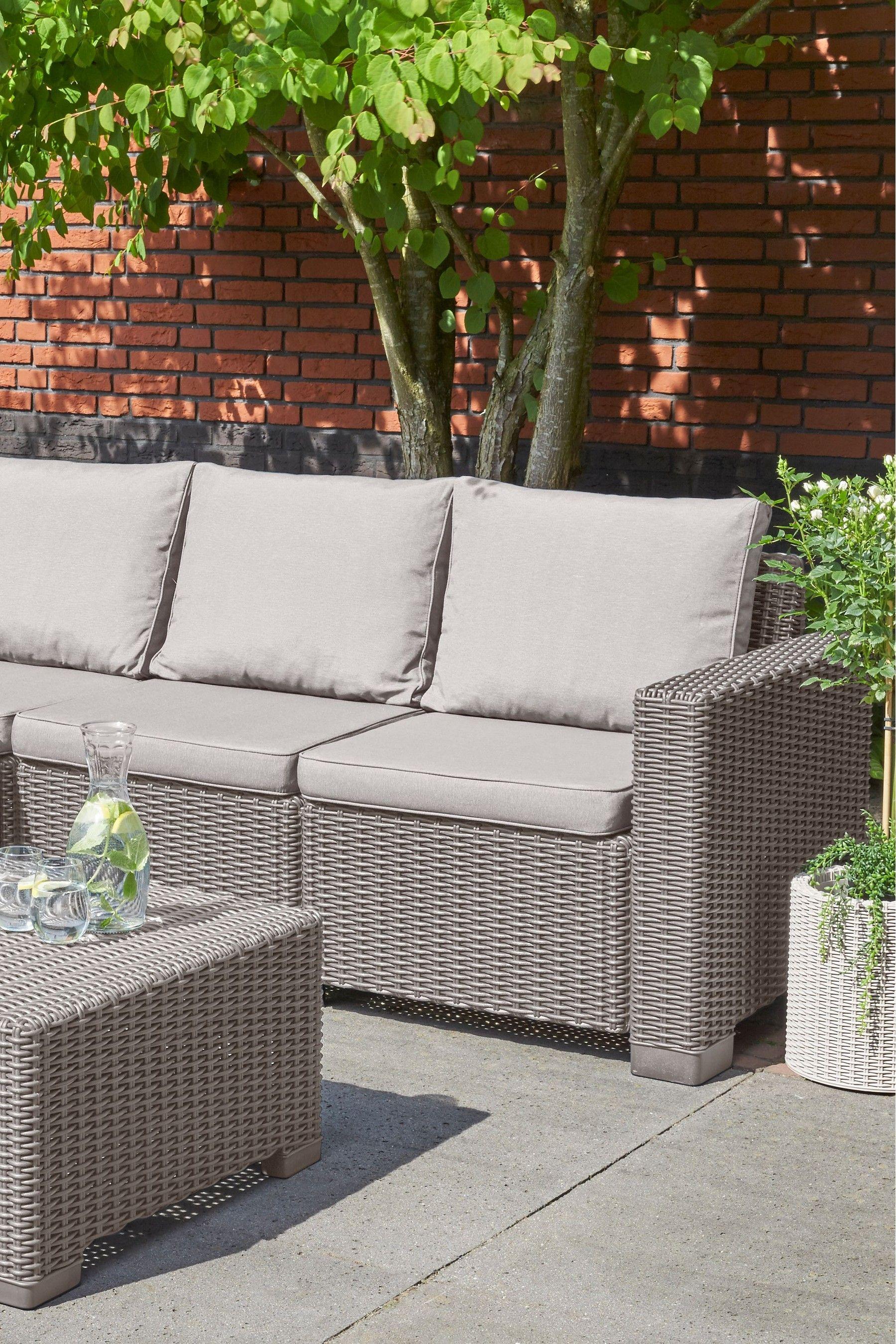 Allibert California Corner Set In 2020 Garden Sofa Outdoor