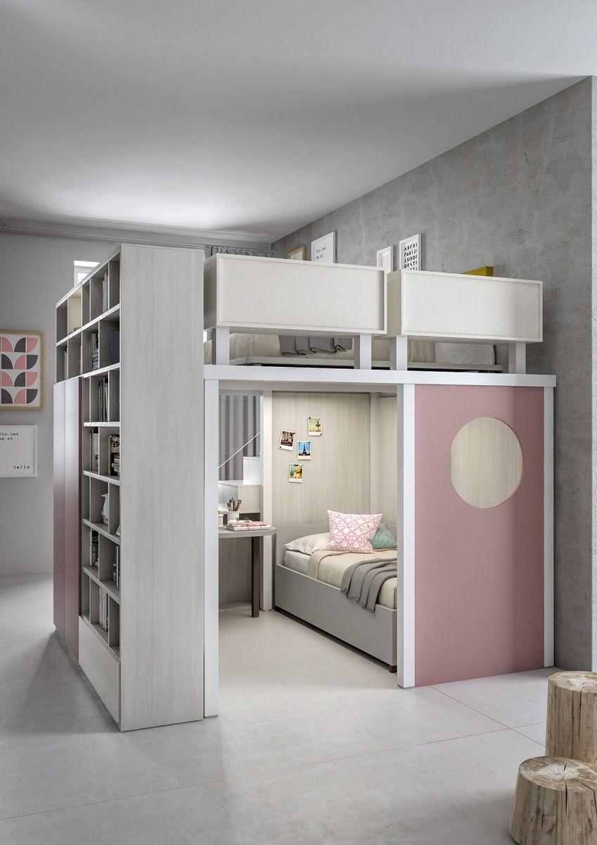Mezzanines with profiles configuration 302 Tumidei