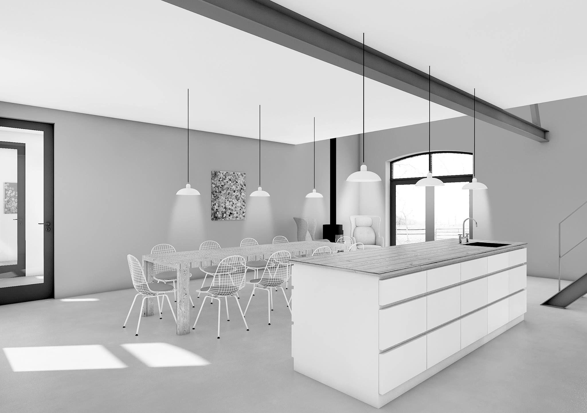 Keuken Design Maastricht : Ontwerp woonhuis keuken voorheen stal boerderij verbouwing