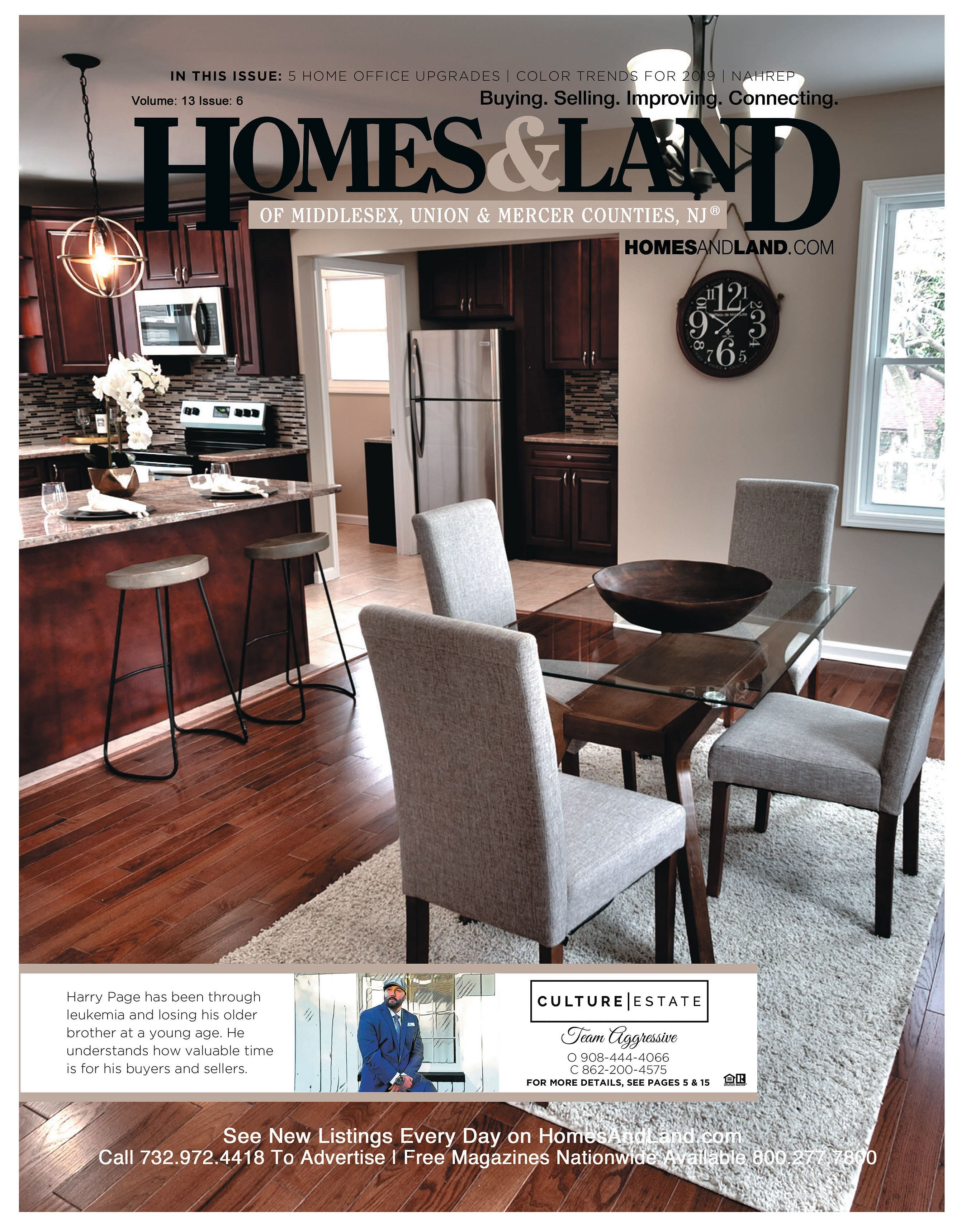 nj real estate magazine print digital call 732 972 on home office color trends id=63850