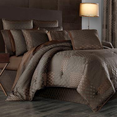 Aston Comforter Set Copper With Images Comforter Sets Bed