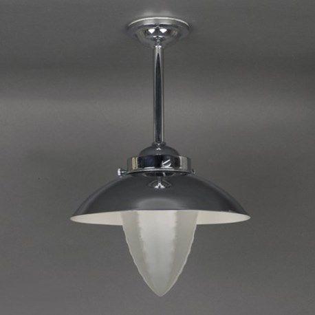 Buitenhanglamp met geëtste ribbel glaskap en optionele kap. Perfect voor bijvoorbeeld in een portiek, maar ook geschikt voor in de badkamer.