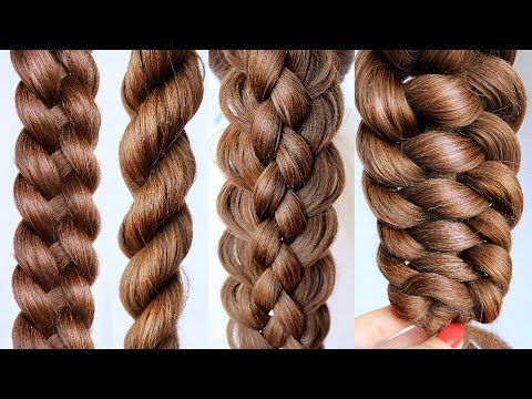6 basic braids for beginners 😍another braid  youtube