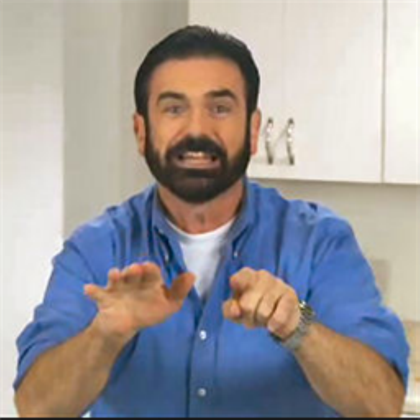 Pin By Braeden Koester On Billy Mays Mens Tops Men S Polo Shirt Billy Mays