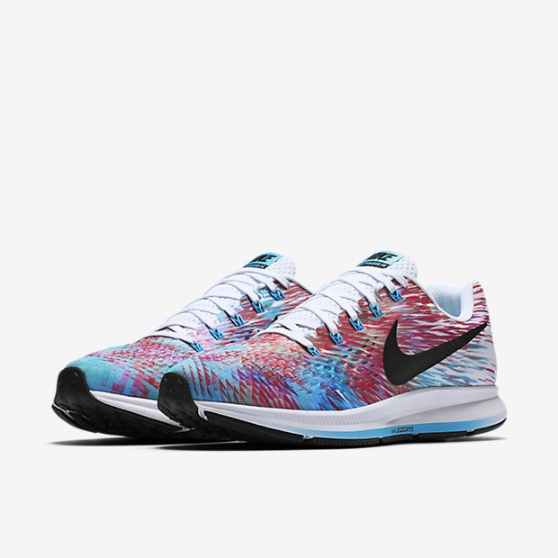 12985ccd5158 Nike Air Zoom Pegasus 34 LE Men s Running Shoe - Chlorine Blue White Racer  Pink Black