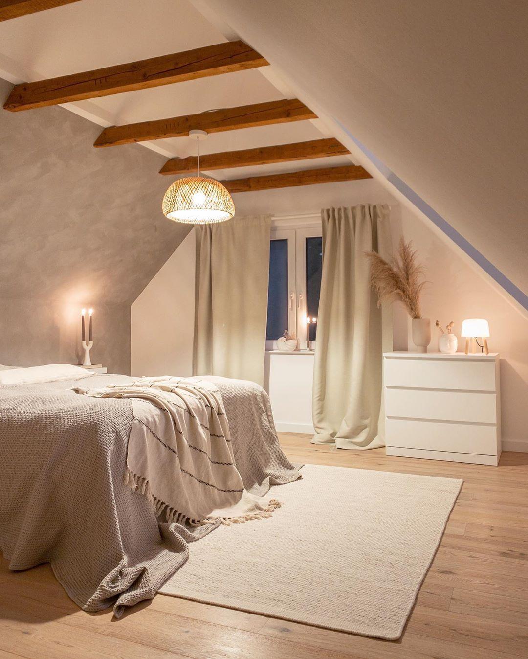 bettvorleger im skandinavischen stil | apartment bedroom