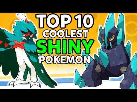 Top 10 Coolest Shiny Pokemon To Hunt In Pokemon Sun And Moon And