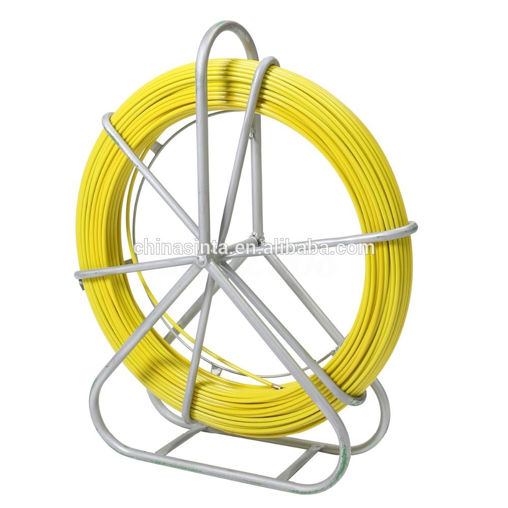 8mm 150m Fiberglass Push Reel Cable duct rodder | cable laying tools ...