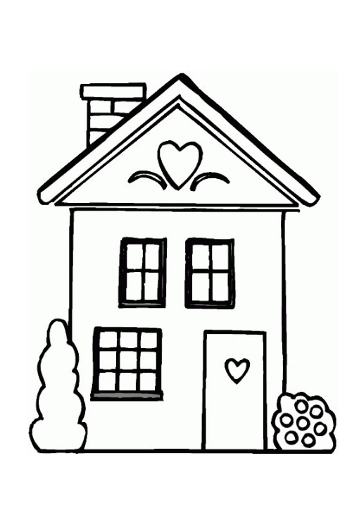 Dessin De Maison Facile 014 05 Choosewell Co Coloriage Maison Maison Dessin Coloriage