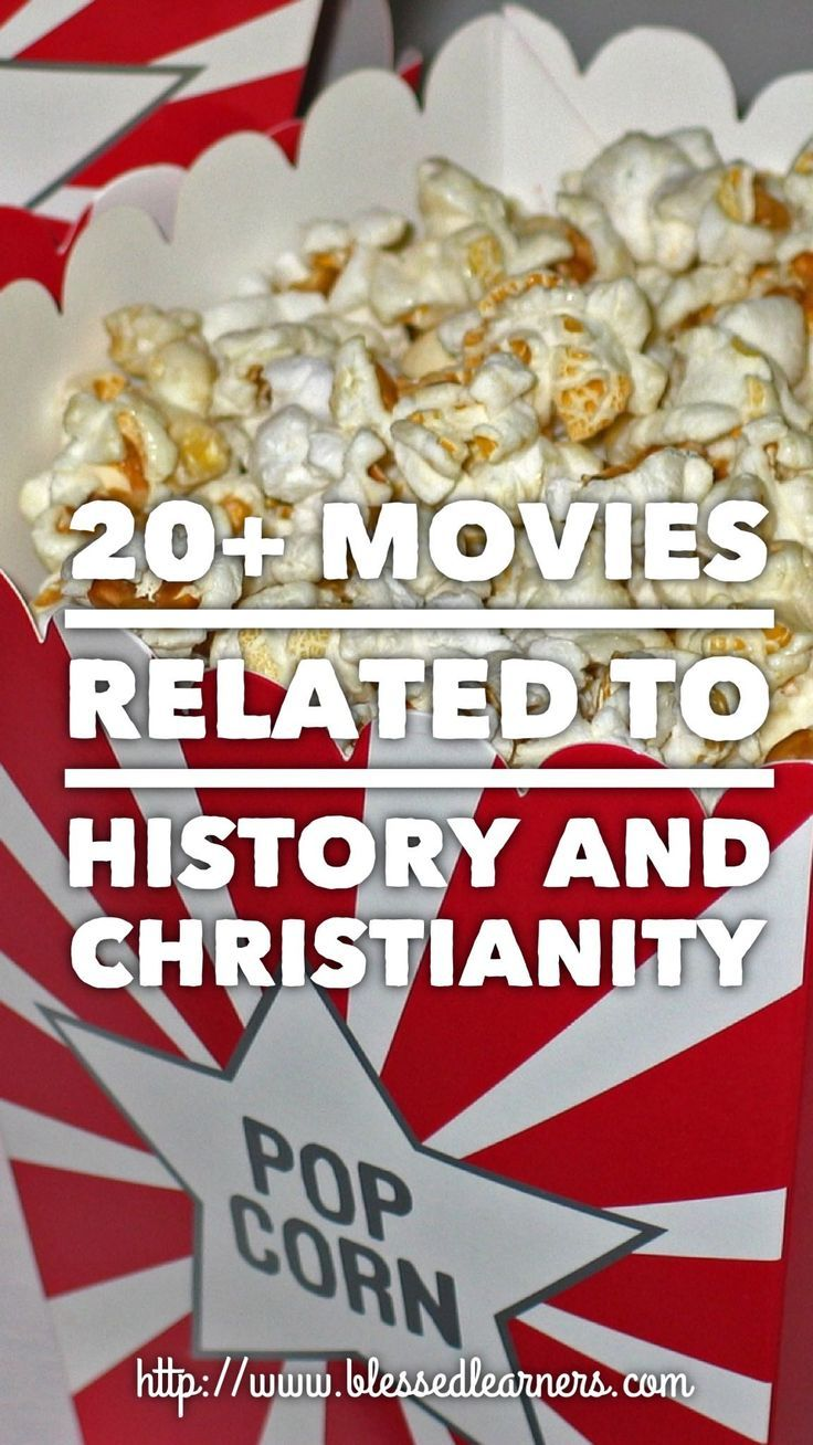 Reading is not the only way to introduce history and Christianity. Here are 20 movies related to history and Christianity to enjoy.