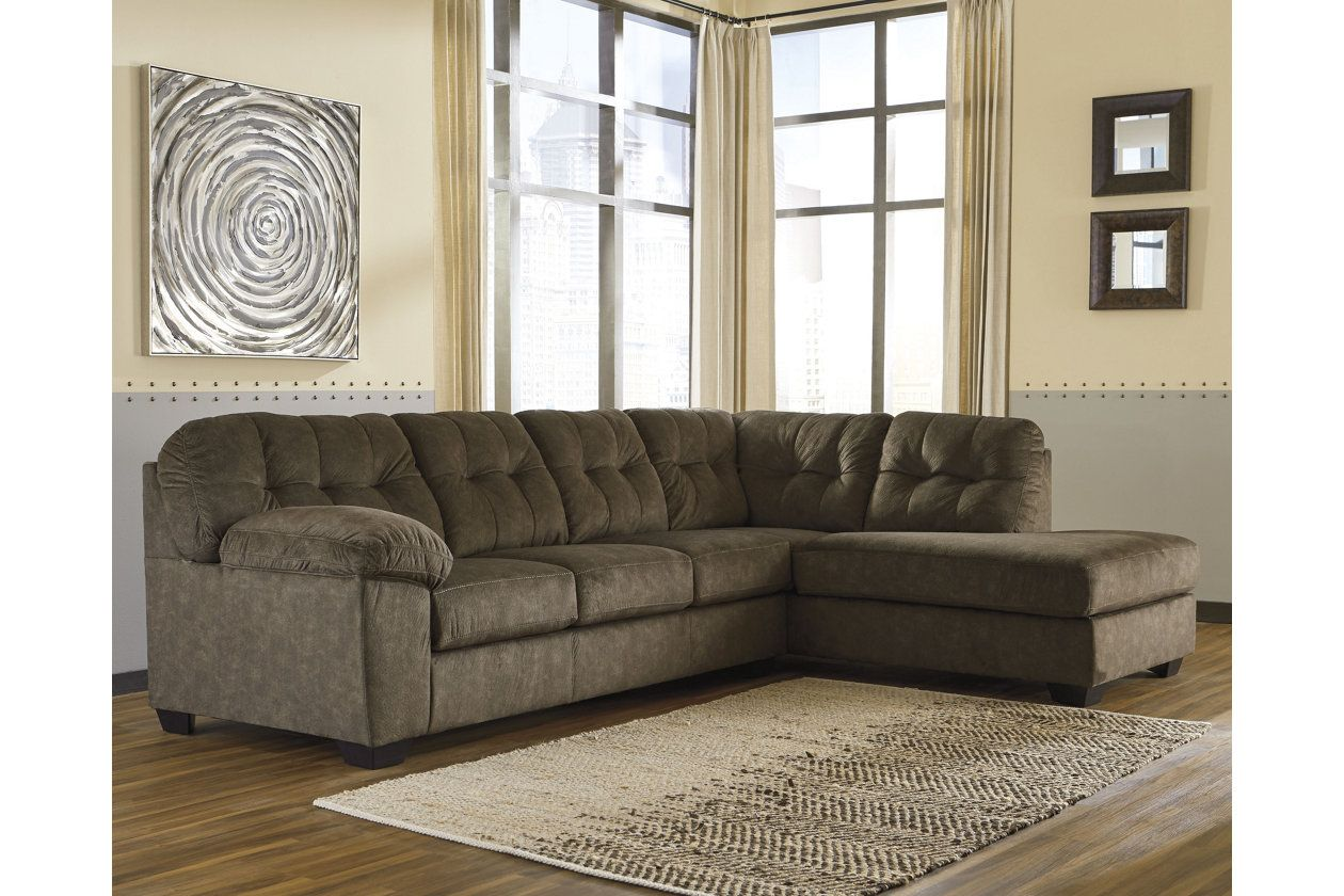 Accrington 2-Piece Sectional with Chaise | Home Furnishings