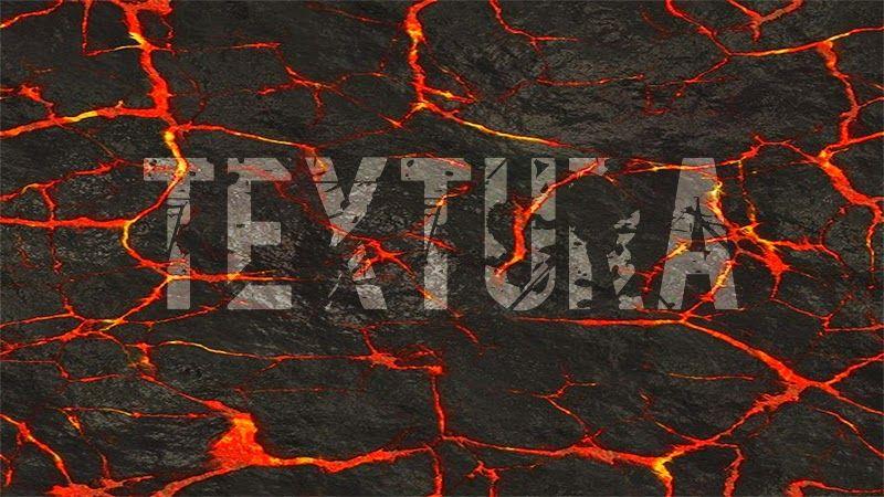 Textura de Lava para Photoshop - Bait69Network