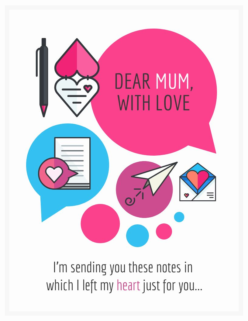 Mother Day Card Template Word Elegant 10 Creative Mother S Day Card Templates And Design Ti Mothers Day Card Template Card Template Personalized Greeting Cards