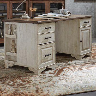Riverside Furniture Aberdeen Executive Desk U0026 Reviews | Wayfair