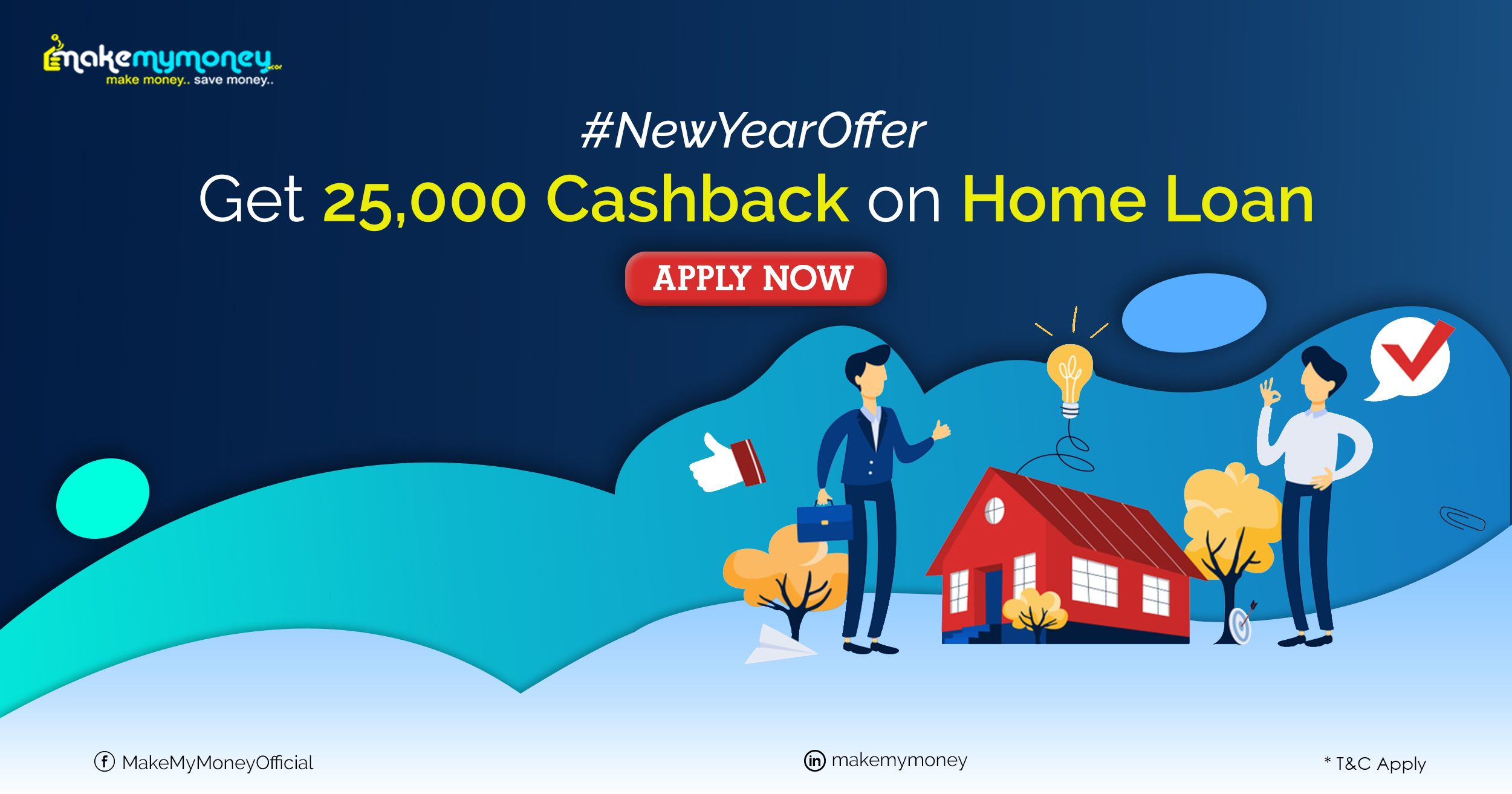 Get Home Loan With Offer Makemymoney Debt Relief Programs Home Loans New Year Offers