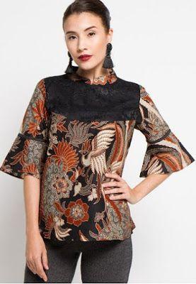 Trend Baju Batik Batik Pakaian Wanita Gaya Abaya Dan Gaun