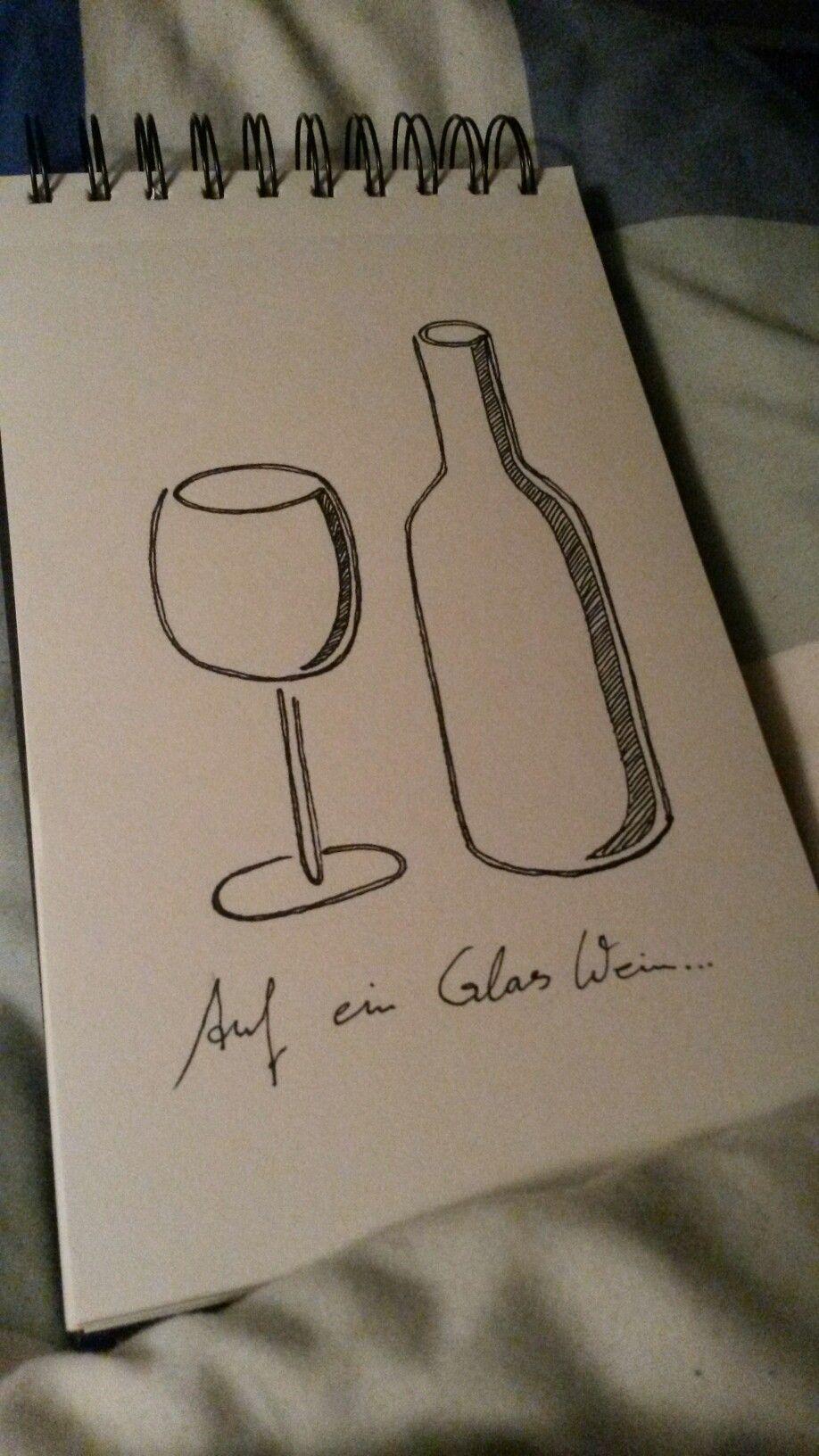 Auf ein Glas Wein....