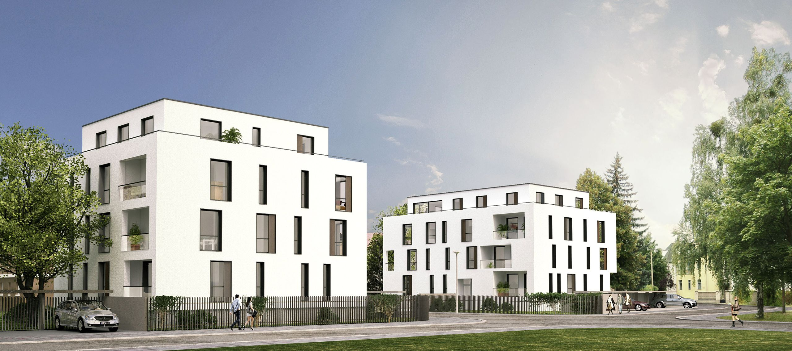 Architektur Rendering Dessau - Bauhaus-campus - Residential - Render-manufaktur. Architektur Visualisierung Visualisier… | Architektur Visualisierung, Visualisierung, Render Architecture
