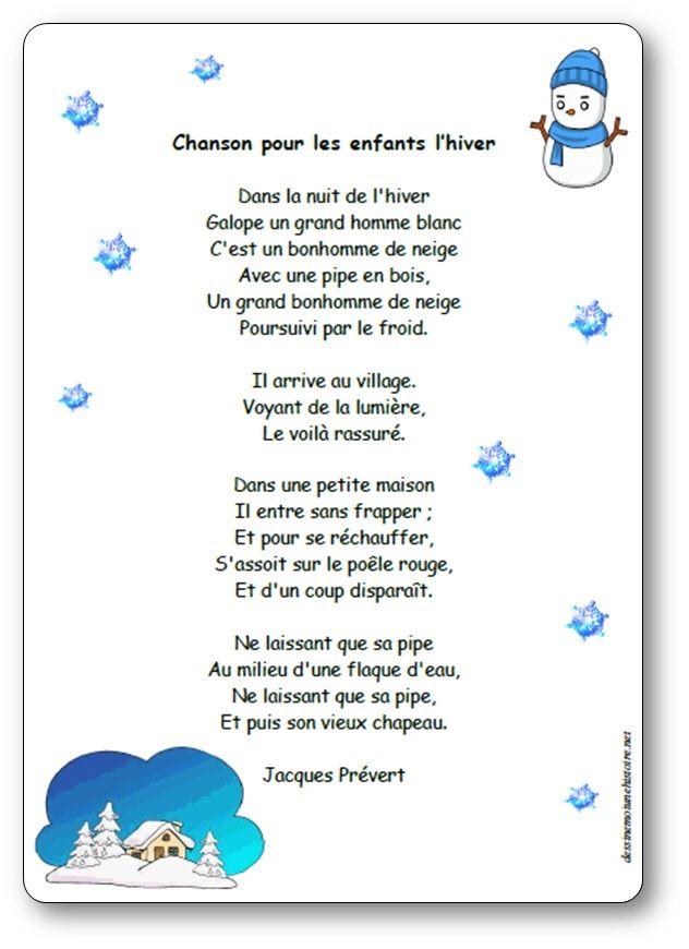 Bonjour Monsieur L Hiver Poésie : bonjour, monsieur, hiver, poésie, Chanson, Enfants, L'hiver, Poésie, Illustrée, Jacques, Prévert, Chansons, Enfants,, Comptine, Hiver,