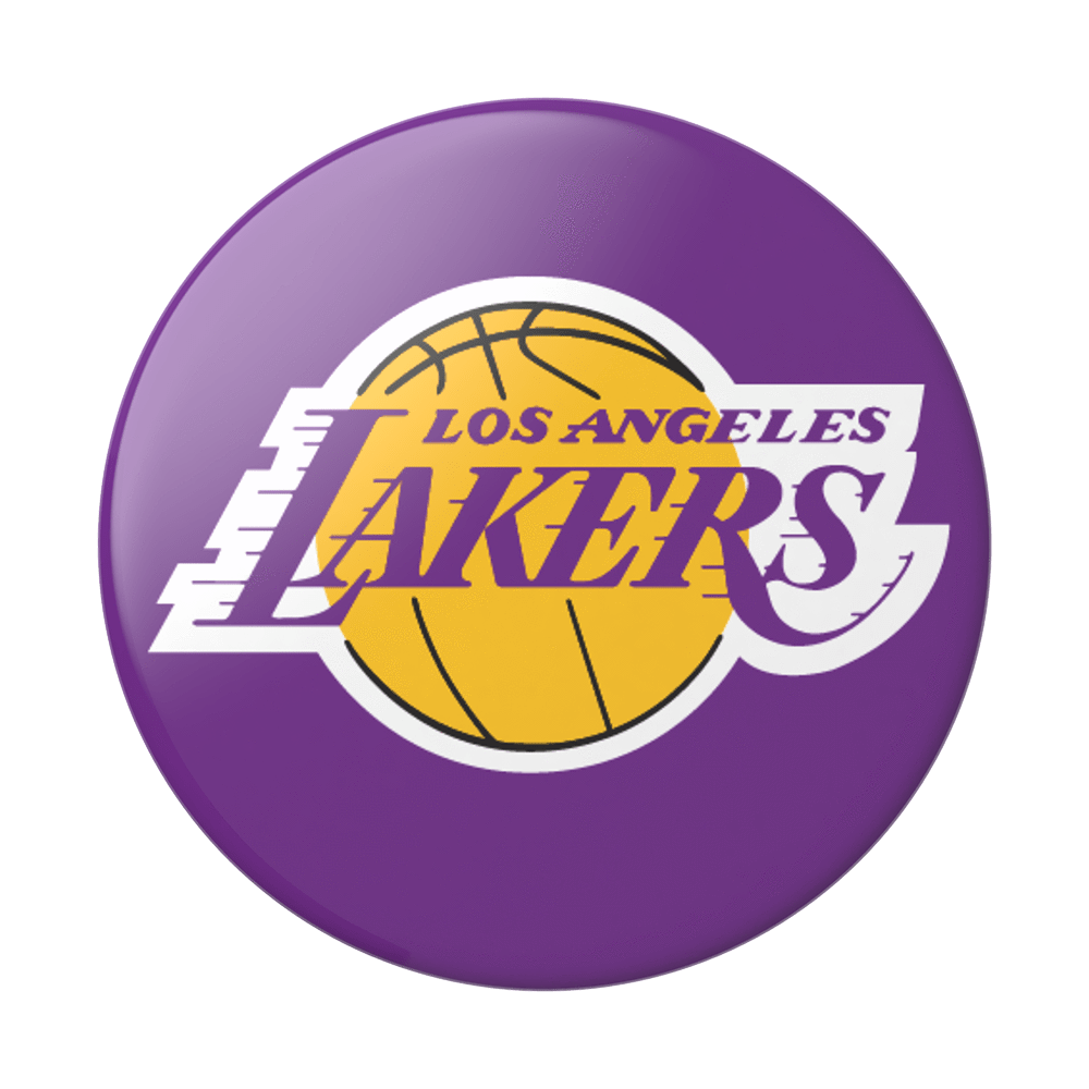 Popsockets La Lakers Phone Grip In Off White Los Angeles Lakers Lakers Lakers Logo
