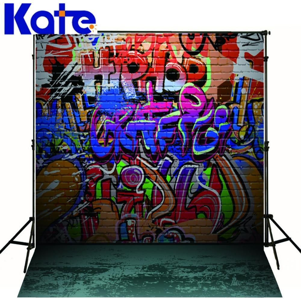 Find More Background Information About Kate 300X300Cm Brick Wall Graffiti Custom Backdrops Backdrops For Photography Personality
